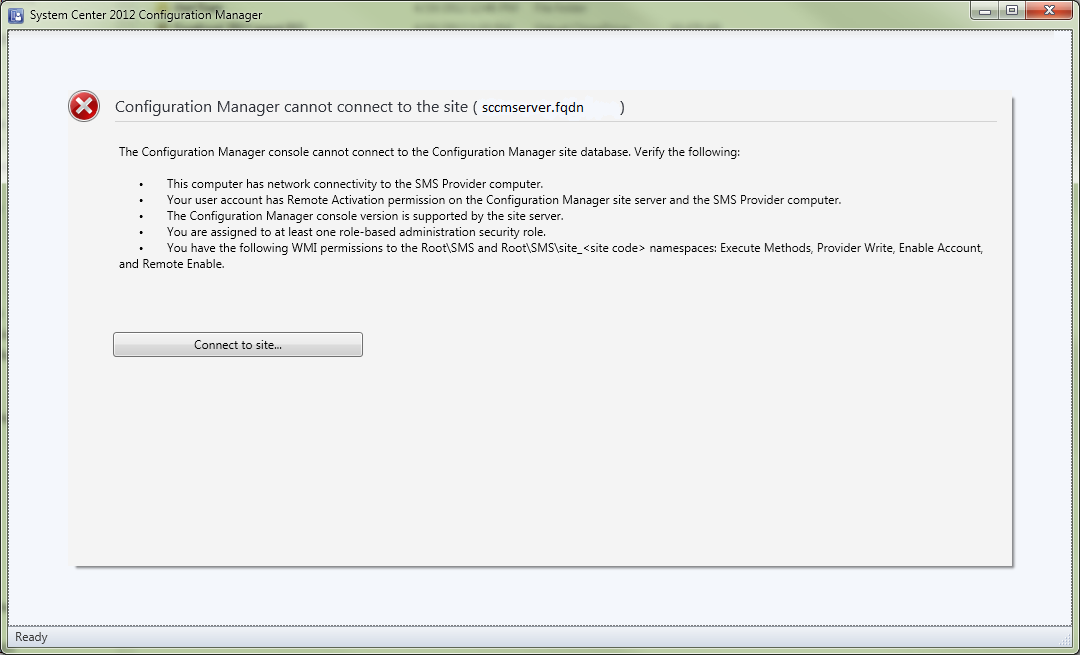 SCCM Console Fix for Administrators | The Windows Admin