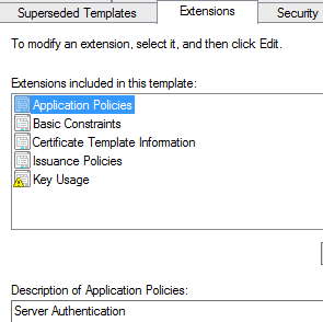 Server 2012 rds certificate solution the windows admin rds extension yadclub Image collections